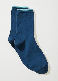 LOFT Tipped Crew Socks