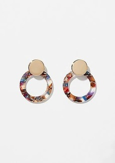 LOFT Resin Ring Earrings