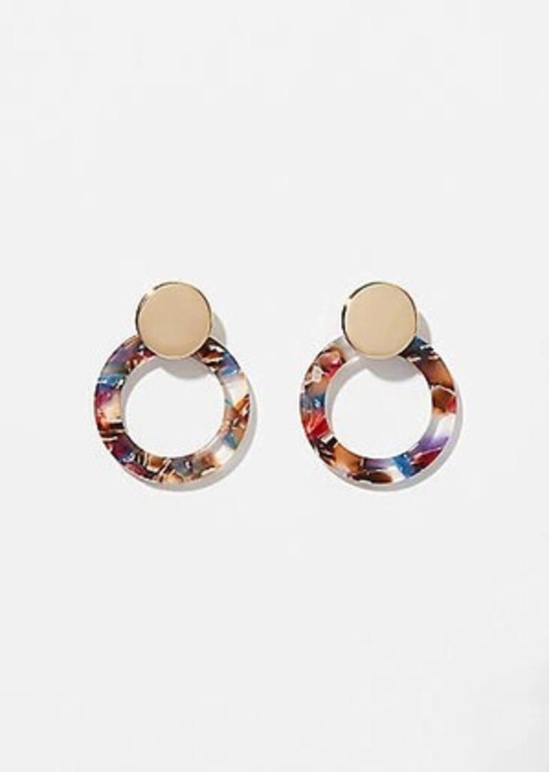 LOFT Resin Ring Earrings