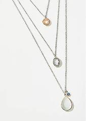 LOFT Layered Stone Necklace