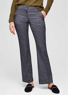 LOFT Trousers in Button Pocket in Julie Fit