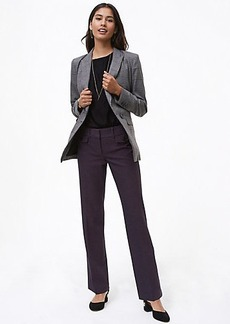 LOFT Trousers in Button Pocket Tweed in Marisa Fit