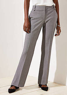 LOFT Trousers in Buttoned Belt Loop in Julie Fit