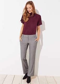 LOFT Trousers in Buttoned Belt Loop in Marisa Fit