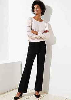 LOFT Trousers in Doubleweave in Marisa Fit