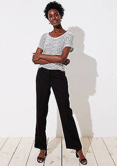 LOFT Trousers in Twill in Marisa Fit