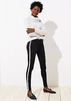 LOFT Leggings in Tuxedo Stripe Ponte