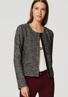LOFT Tweed Knit Jacket
