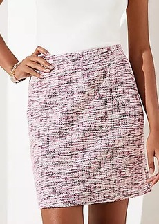 LOFT Tweed Pocket Jogger Skirt