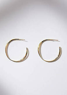 LOFT Twist Hoop Earrings