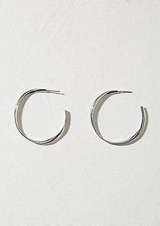 LOFT Twist Hoop Earrings