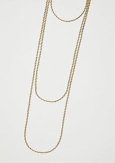 LOFT Twist Layered Necklace