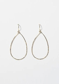 LOFT Twist Teardrop Earrings