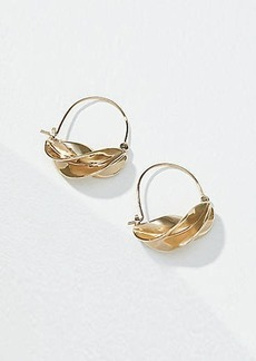 LOFT Twisted Hoop Earrings
