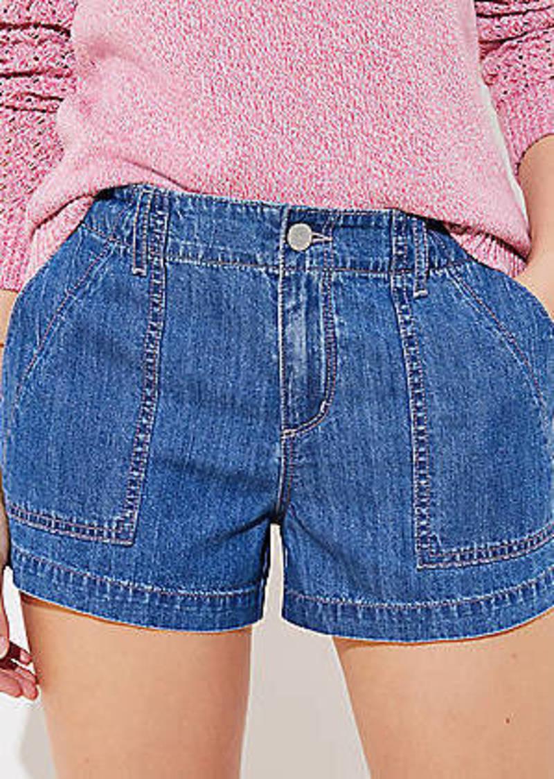 LOFT Utility Shorts