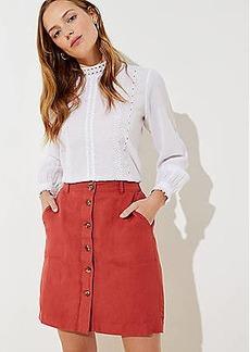 LOFT Utility Skirt