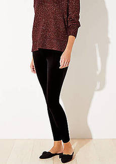 LOFT Velvet Leggings