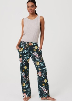 LOFT Vine Fluid Trousers