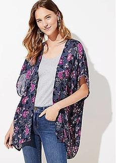 LOFT Vine Kimono