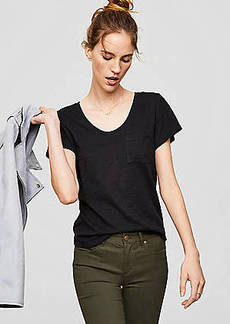 LOFT Vintage Soft Pocket Tee