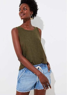 LOFT Vintage Soft Shirttail Tank