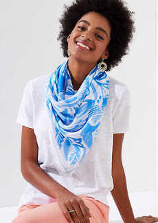 LOFT Watercolor Paradise Scarf