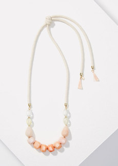 LOFT Watercolor Rope Necklace
