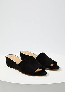 LOFT Wedge Mules