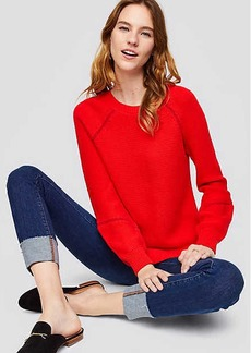 LOFT Whipstitched Sweater