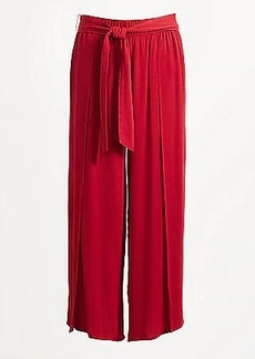 LOFT Wide Leg Crop Pull On Pants