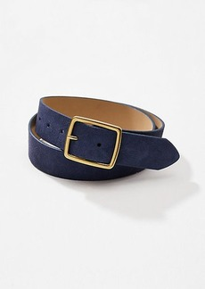 LOFT Wide Suede Belt