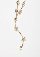 LOFT Wildflower Y Necklace