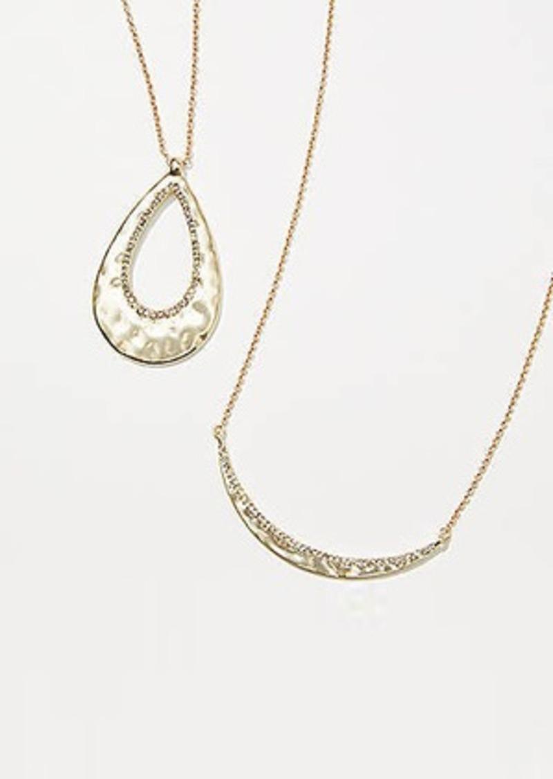 LOFT Winter Wonderland Necklace Set