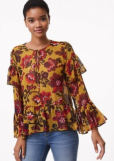 Woodland Bell Sleeve Blouse