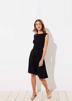 LOFT Wrap Back Dress