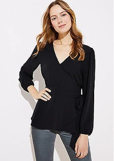 LOFT Wrap Blouse