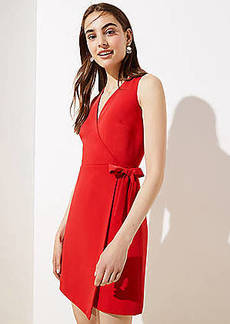 LOFT Wrap Sheath Dress