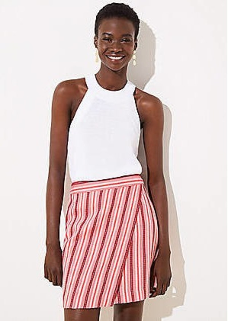 LOFT Wrap Shift Skirt