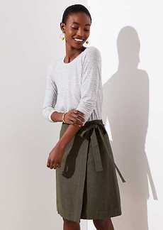 LOFT Wrap Skirt