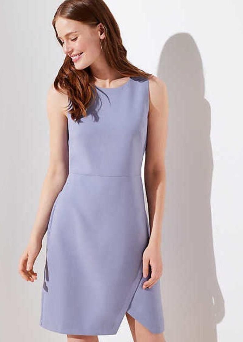 LOFT Wrap Skirt Dress