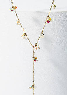 LOFT Y Charm Necklace