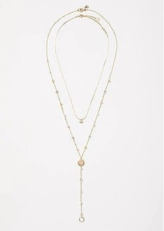 LOFT Y Necklace Set