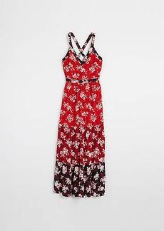 LOFT Zinnia Tiered Maxi Dress