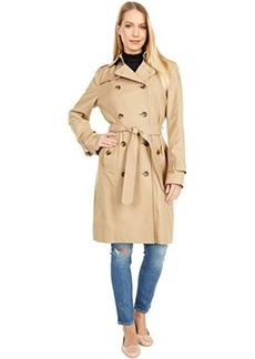 London Fog Double Breasted Classic Rain Trench