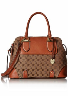 London Fog Camilla Triple Satchel Logo