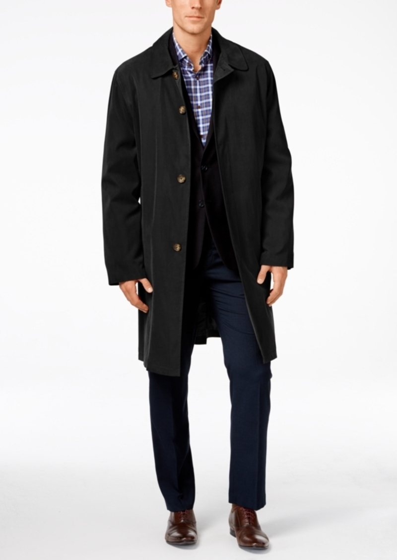 London Fog Durham Classic-Fit Raincoat