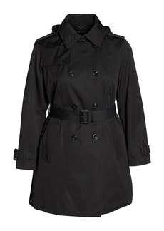 London Fog Trench with Detachable Liner (Plus Size)