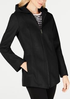 London Fog Petite Hooded Coat
