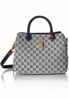 London Fog Kate Satchel  Logo