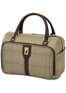 "London Fog Knightsbridge 17"" Cabin Tote, Available in Brown and Grey Glen Plaid, Macy's Exclusive Colors"